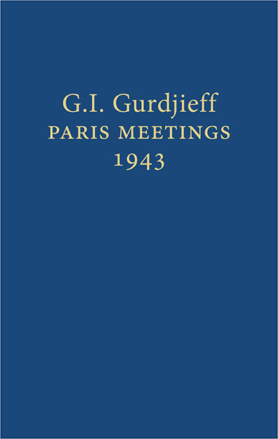 Paris Meetings 1943